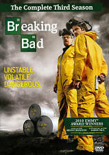 Breaking Bad: The Complete Third Season 3 Three (DVD, 2011, 4-Disc Set) - NEW!!