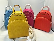 Michael Kors Abbey XS Backpack Messenger Crossbody Bags Embossed Leather  298