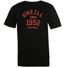 ONeill Mens Nineteen 52 Short Sleeve Tee Shirt Top Cotton Print Crew Neck