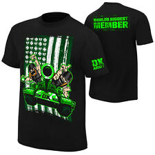 """Official WWE - DX D-Generation X """"Worlds Biggest Member"""" Retro Authentic T-Shirt"""