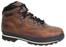 Timberland Euro Hiker Fabric Leather Mens Hiking Boots Brown A18UL D78
