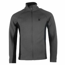Spyder Mens Constant Full Zip Top Long Sleeve Thermal Baselayer Sports Clothing