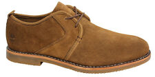 Timberland Oxford Brown Mens Lace Up Ortholite Leather Suede Shoes A172W D22