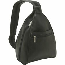 Le Donne Leather Ladies Sling Backpack / Purse