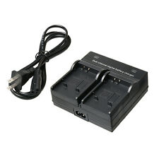 AU Dual Channel Digital Battery Charger For Olympus SW μ1020 μ6000 μ8000 Camera