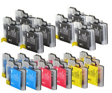 20 printer cartridges Ink Cartridges compatible with Brother LC-1100 LC-980