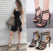 New Women's Fashion Gladiator Strappy High Heel Stiletto Pumps Sandals Shoes Hot