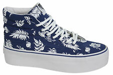 Vans Off The Wall SK8 Hi Platform Authentic Unisex Lace Up High Tops