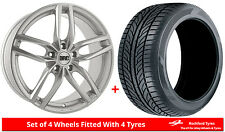 """Alloy Wheels & Tyres 18"""" DRC DRS For Volvo XC90 [Mk1] 02-14"""