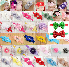 CH hot Toddler Newborn Baby Girl Rose Flower Headband Hair Band Hair Accessories