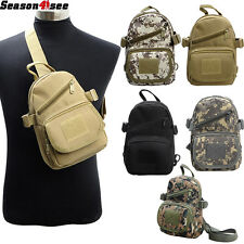 Outdoor Sport Tactical Shoulder Bag Single Chest Pouch Sling Pack Bag Hunting
