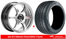 "Alloy Wheels & Tyres 17"" Lenso Spec C For Vauxhall Vectra (4 Sud) [B] 95-02"
