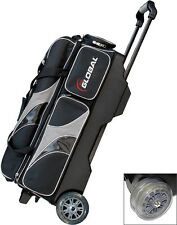 Bowling bag 3-Ball Scooter 900 Global for 3 BowlingBalls and Bowling Shoes