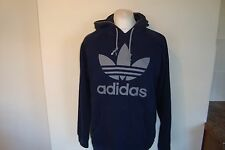 Adidas Originals Trefoil Retro Hoodie Hooded Sweatshirt Large Mens