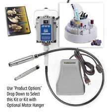 Foredom K.5200 K.5201 K.5202 Deluxe Woodcarving Kit, 2 Handpieces
