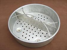 Steamer basket  2 part divider  Fits pressure cooker or saucepan 21 cm or wider