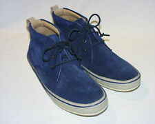 John Varvatos USA Redding 3-Eye Chukka Boots, Leather or Suede Upper, New