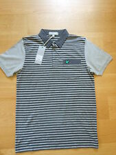 Lyle and Scott green eagle golf polo shirt,grey stripe ,sizes med,lg.,rrp £65