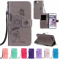Luxury PU Leather Magnetic Flip Stand Card Slot Wallet Case Cover For iPhone 6 7