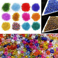 1500 Pcs 2mm Colorful Czech Glass Seed Round Spacer Beads DIY Jewelry Making Hot