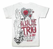 The Alkaline Trio  Hands, Skulls, Hearts Kids White T Shirt New Official Youth