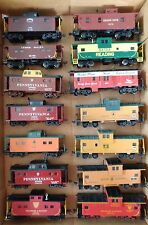 HO Scale Cabooses- RTR- Kadee Couplers- Variation Listing