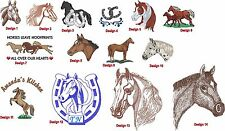 6 Shirts Embroidered Free 4Ur Farm /Business W Horse Western design & UrName