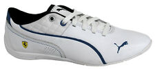 Puma Drift Cat 6 SF Lace Up White Blue Leather Synthetic Trainers 305136 03 D114