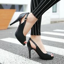 New Fashion Summer Womens Shoes  Fine Shallow Mouth Sexy High Heeled Shoes Hasp