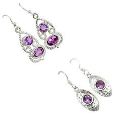 925 sterling silver amethyst earrings jewelry by jewelexi 5296A