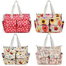 New Fashion Women Shoulder Bag Mommy Baby Diaper Nappy Changing Tote Handbag