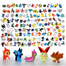 24 - 144 Lot Pikachu Pokemon Go Mini Action Figure Toy Pocket Monster Collection