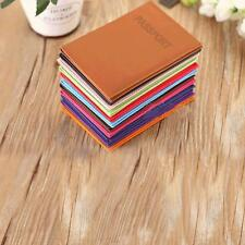 Leather Passport Travel Organizer holder RFID card Case Protector Cover Wallet [