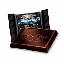 INTENSE 72% CACAO GHIRARDELLI DARK CHOCOLATE SQUARES (Lindt Lindor) christmas