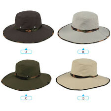 New Hiking Bucket Fisherman Boonie Hats Multi-Color Camouflage Outdoors Sports