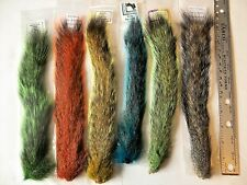 SQUIRREL TAILS - Premium Fly Tying Fishing Material - Natural & Dyed Colors