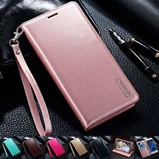 Luxury PU Leather Wallet Card Flip Case Cover For Pouch Samsung Galaxy/iPhone Y
