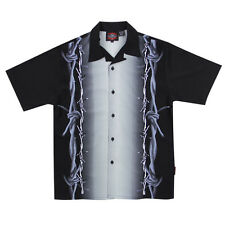 Dragonfly Roadhouse Locked Up Button up Short Sleeve Shirt
