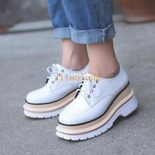 L Japanese Style Creepers Oxfords Shoes Ato Matsumoto Girls Lace Up Casual Shoes