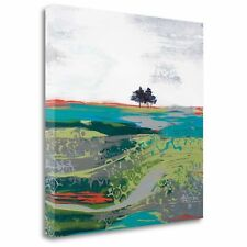 'Summer Breeze' by Leslie Bernsen Painting Print on Wrapped Canvas