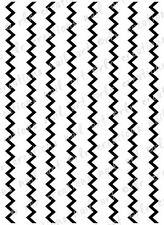 NAIL DECALS * CHEVRON ZIGZAGS* WATER SLIDE NAIL ART DECALS 10 COLORS TO CHOOSE