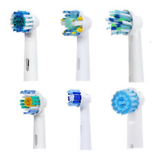 For Oral B Vitality Replacement Toothbrush Heads Refill with Protective Cover