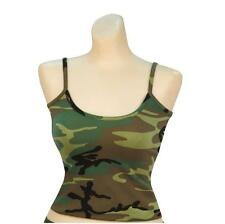 Women's Woodland Camo Casual Tank Top, Camisole
