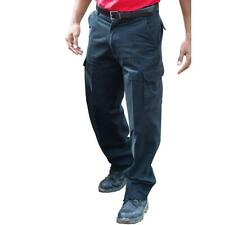 NEW Mens Combat Cargo Work Trousers Size 28 to 54 With Knee Pad Pockets - GS-01