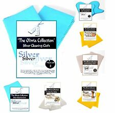 1-100 Toc Gold Silver Jewellery Polishing Cleaning Cloths Wholesale Job Lot