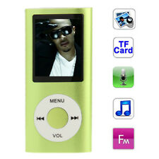 1.8 inch TFT Screen Metal MP4 Player with TF Card Slot Support Recorder FM Radio