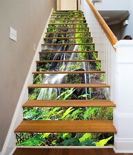 3D Flowing Water 87 Stair Risers Decoration Photo Mural Vinyl Decal Wallpaper AU