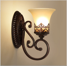 European Style Bedroom Living Room Stair Aisle Wall Lamp Corrider Sconce Lights