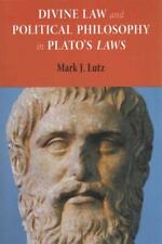 DIVINE LAW AND POLITICAL PHILOSOPHY IN PLATO'S LAWS - NEW PAPERBACK BOOK