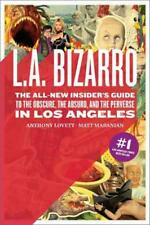 L.A. BIZARRO - LOVETT, ANTHONY/ MARANIAN, MATT - NEW PAPERBACK BOOK